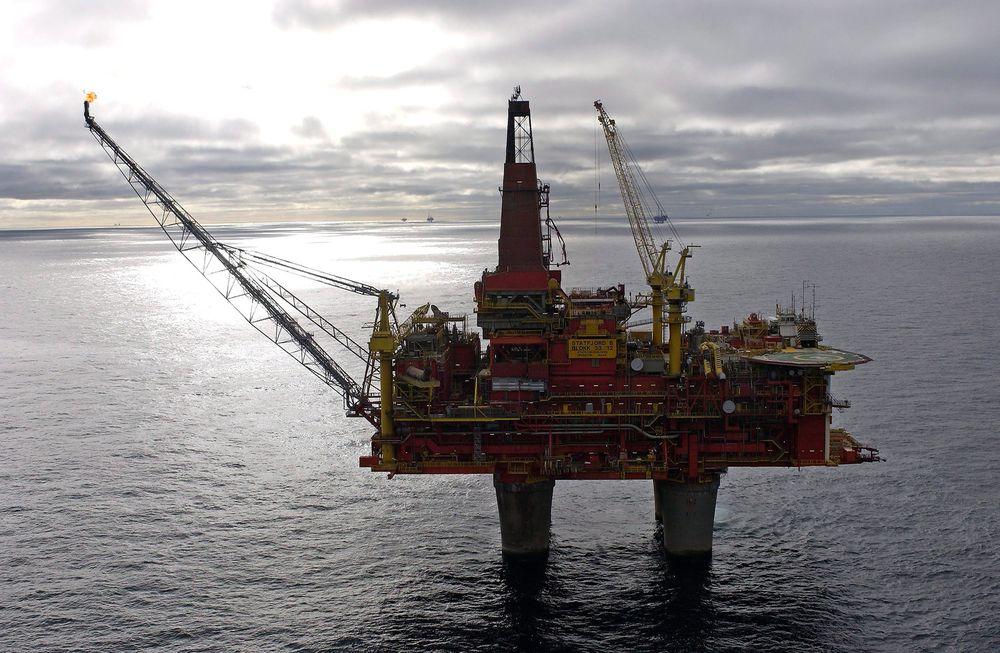 Stengt: Statoil har måttet stenge kaksinjensjonsbrønnen på Statfjord B etter at den begynte å lekke.