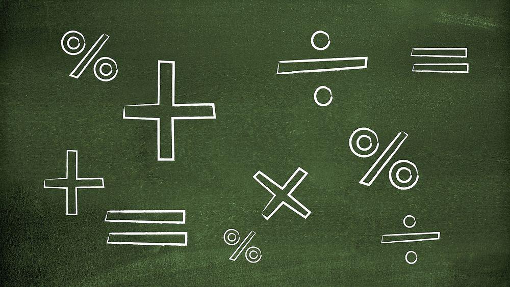 Den siste PISA-undersøkelsen viser at norske elever er blitt svakere i matematikk.