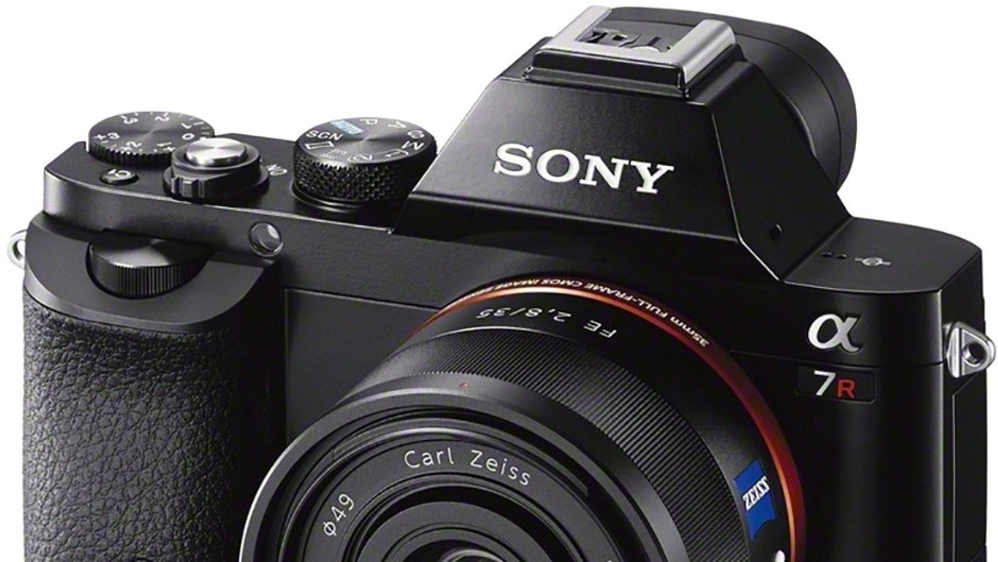 Fullformat: Sony A7 er det første speilløse systemkameraet med fullformatbrikke.