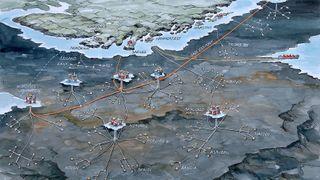 Dette står i veien for gassrør til Barentshavet