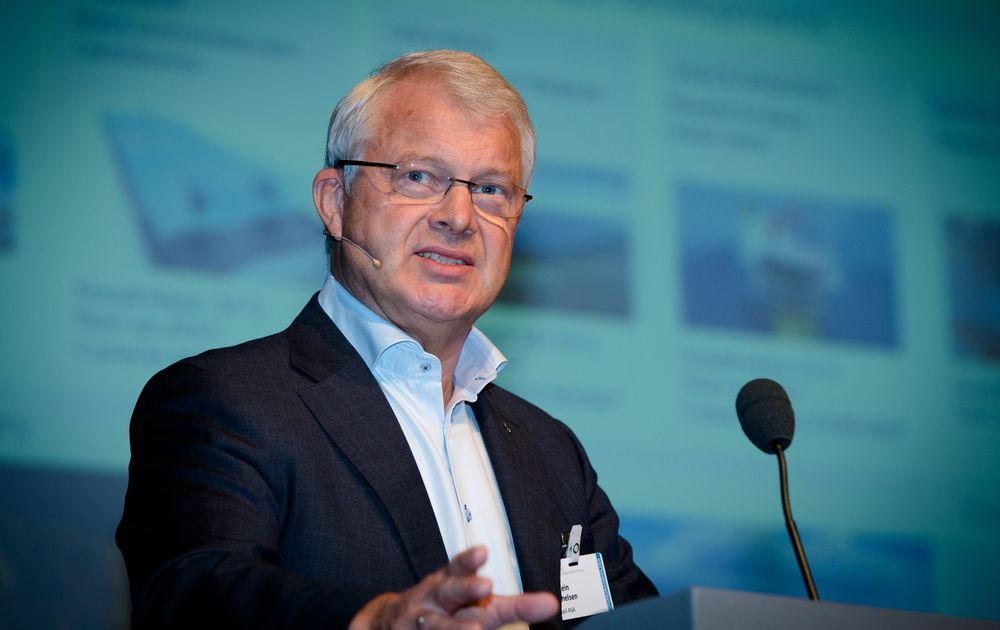 Statoils sjef for norsk sokkel, Øystein Michelsen, mener selskapets ledelsesmodell er så god at den bør bli standard på norsk sokkel. Foto: Bjørn Stuedal.