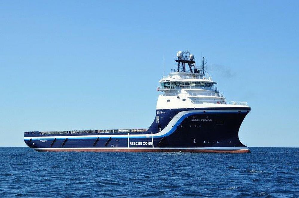 Kan ringe hjem: Folkene ombord på tre av Gulfs supplybåter i Nordsjøen kan nå bruke mobilen som om de var på land. Norske MCP vil selge mobilteknologi til flest mulig av verdens 9000 slike fartøyer.