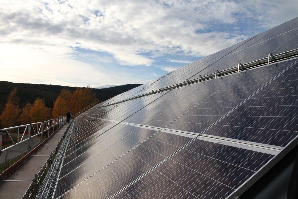 Statsbygg snart klar med Norges største solcelleanlegg