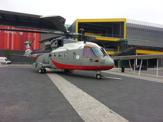 Slik ser vip-versjonen av AW101 ut. Norge vurderer å bestille helikopteret med militær sar-utrustning.