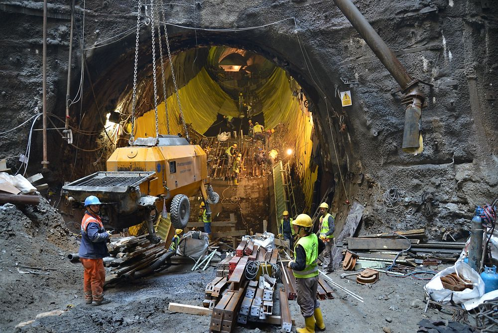Marmaray-prosjektet som skal forbinde Europa med Asia åpner offisielt om et par uker. Norsk betongteknologi har vært brukt.