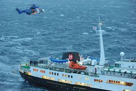 Bristows EC225LP awsar (bildet) er satt på bakken. Nå er det amerikanere i S-92 som flyr sar på Hammerfest.