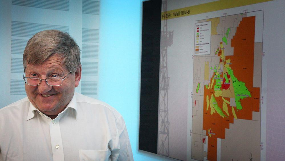 Letesjef Hans Christen Rønnevik i Lundin kan i dag offentliggjøre at Gohta-funnet er like stort som Goliat.