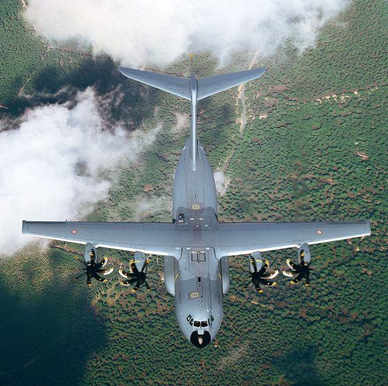A400M MSN-7 tilhørende Armée de l'Air.