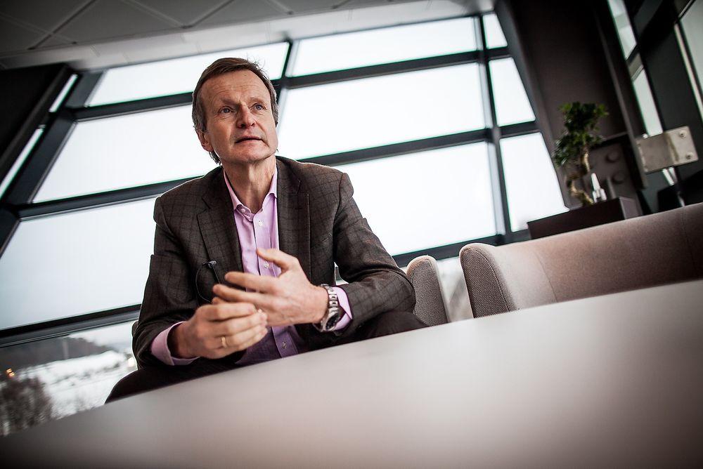Telenor-sjefen: Neste år runder Jon Fredrik Baksaas de seksti, men han har ingen intensjoner om å fratre.