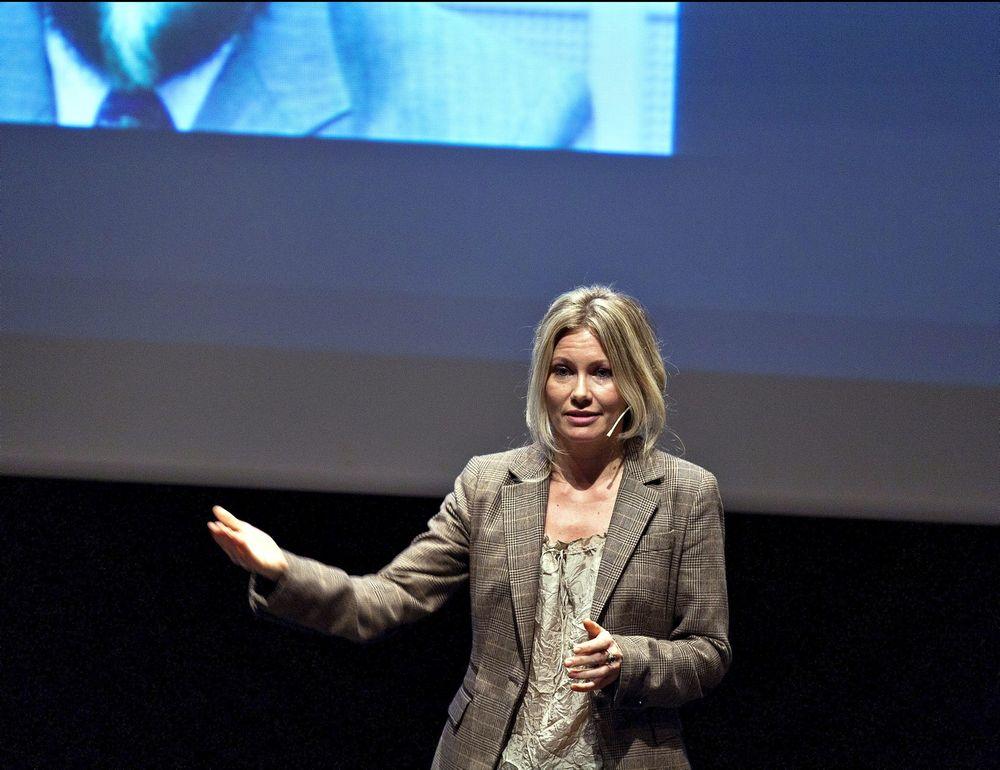 Klimaengasjert: Storm-gründer Siri Kalvig kombinerer deltidsjobb med forskning på vær og klima. 7. november holder hun foredrag om Nærings-ph.d.-ordningen på Forskningsrådets seminar. ⇥Foto: NTB scanpix