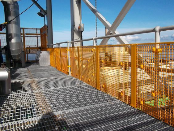 Australsk patent skal forhindre fallende gjenstander på olje- og gassrigger.