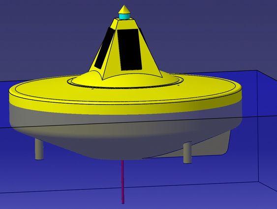 Stormbøye, illustrasjon, Ocean Energy