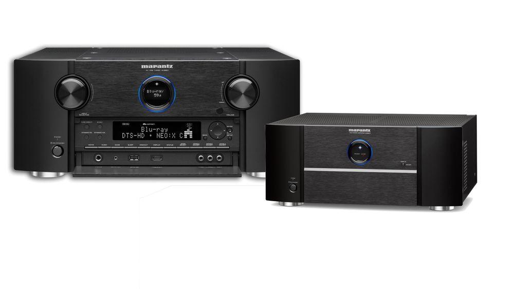 Marantz AV8801 og MM8807.