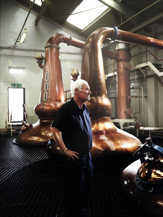 Det er bare åtte ansatte på Glengoyne-destilleriet.