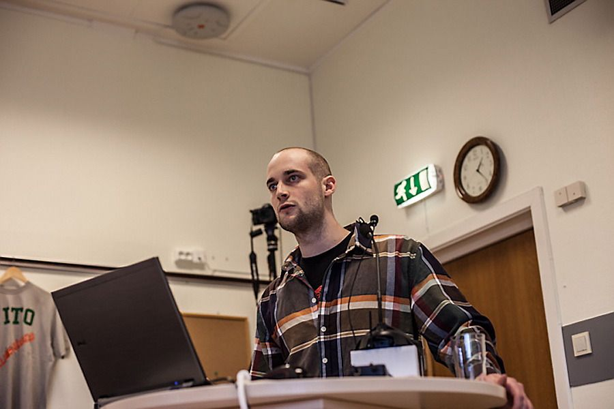 Lasse Bjerke, ny leder i NITO Studentene.