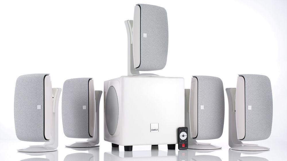 Dali Fazon Sat 5.1 er en lekker hjemmekinopakke med meget god lyd. Men den koster.