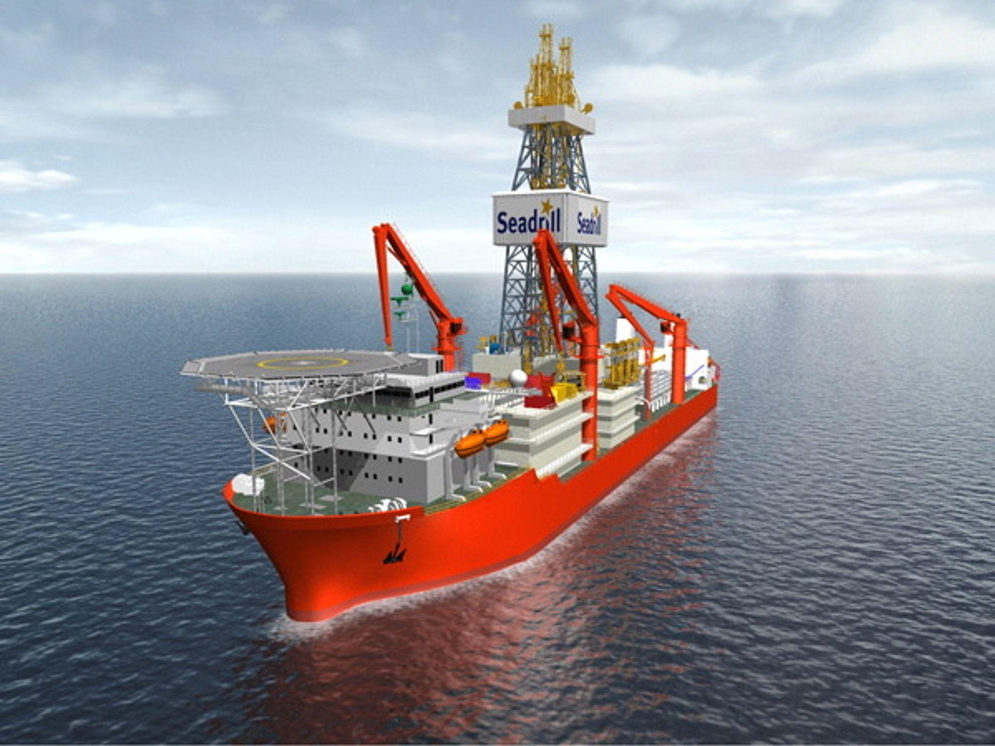 West Auriga er ett av tre boreskip som inngår i gigantkontrakten på rundt 24 milliarder kroner.