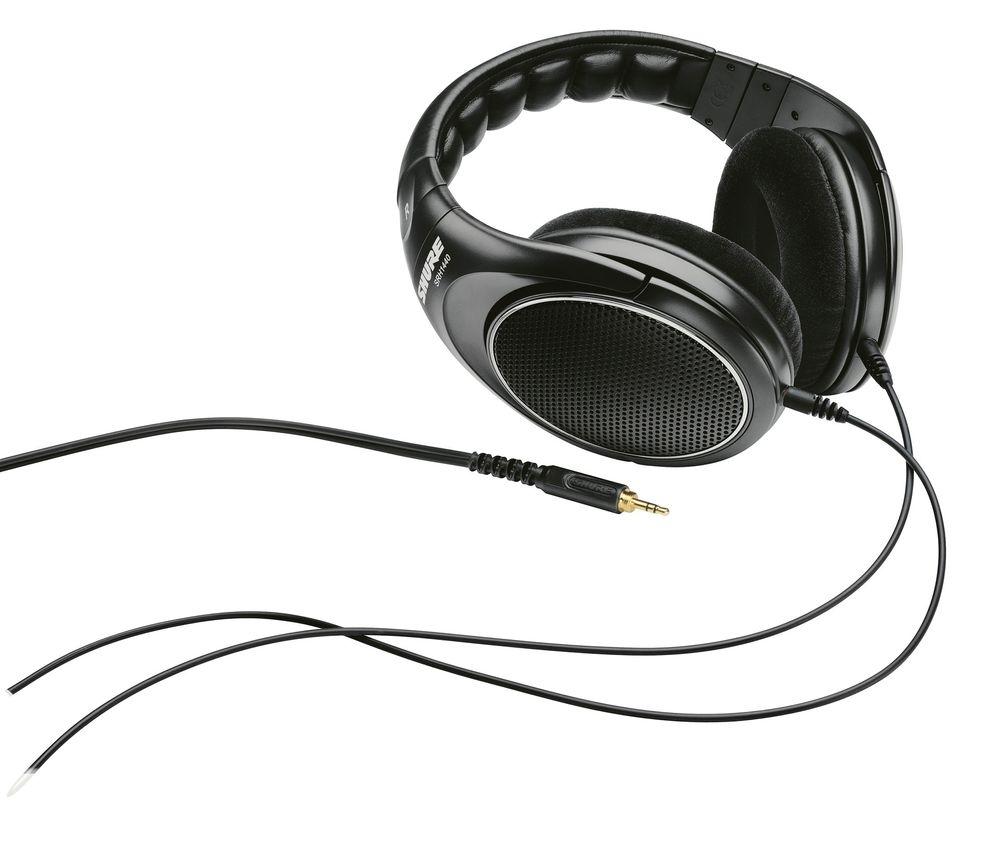 SHURE SRH-1440: Lettdreven, har god passform og tåler lange lytteøkter.