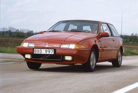 480 turbo (bildet) i tillegg til 340/360, 440/460 og S40/V40 var modellene Volvo produserte på Nedcar-fabrikken.