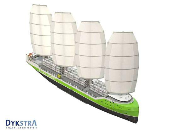 Konstruktørene tror strengere miljøkrav og økte drivstoffpriser vil skape et marked for Ecoliner-konseptet.