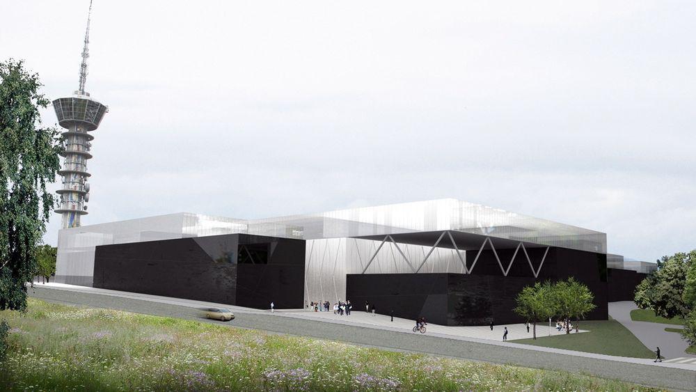 Ocean Space Centre skal bygges på Tyholt som en utvidelse og modernisering av Marintek. Planen om et senter ute i sjøen måtte skrinlegges på grunn av dårlige bunnforhold.