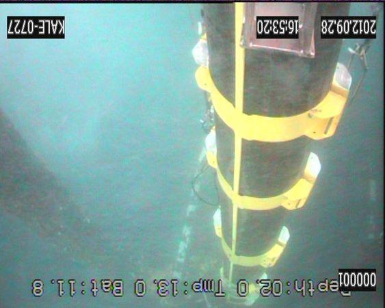 Ved hjelp av et nyutviklet hydraulisk verktøy, greide tilkomstteknikerne fra Can AS å feste klammene som hadde løsnet fra cirka ti meter under havoverflaten. Arbeidet skjedde uten bruke av ROV eller dykkere.