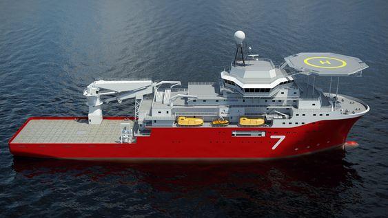 Korea-bygg: Wärtsilä har laget en splitter ny design, VS 4725 DSV for Subsea 7. Det ble gjort i tett samarbeid mellom Subsea 7, HHI, Drass Energy, som er leverandøren av dykkerutstyr, og Wärtsilä.Skipet bygges av HHI.