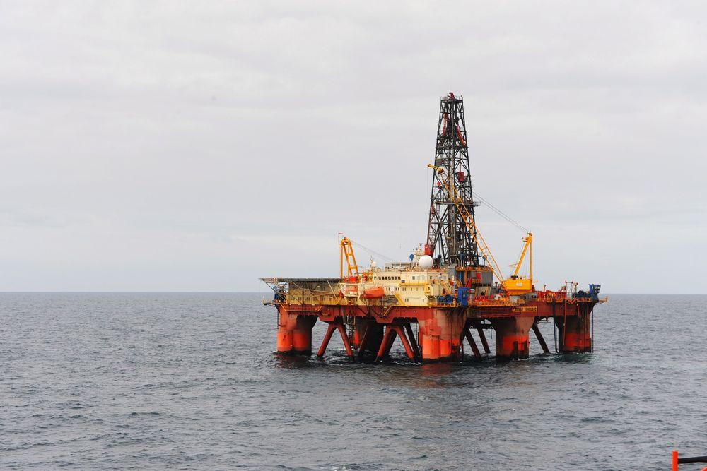 Ocean Vanguard har gjort et lite funn for Statoil i prospektet Cliffhanger North.