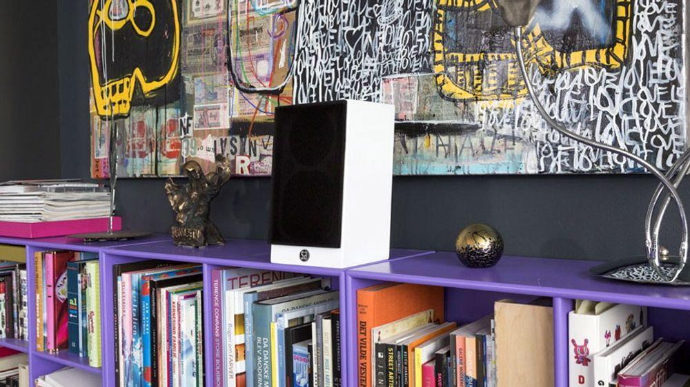 System Audio Saxo 8 er ikke stor, men låter langt større enn den ser ut til.