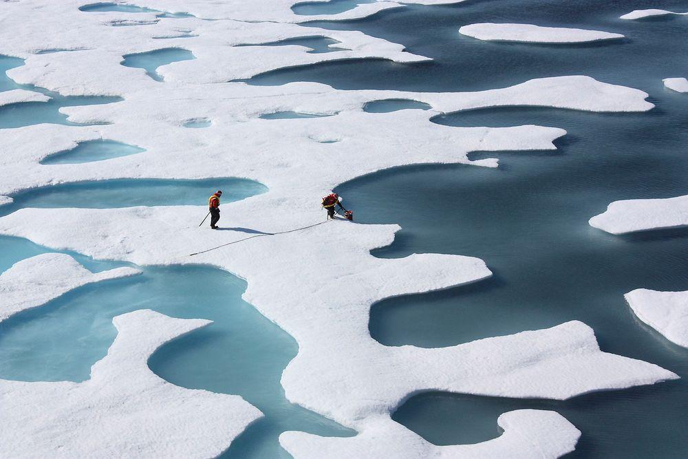 2016 er det varmeste året som er registrert, ifølge forskere. Havisen smelter i høy tempo.
