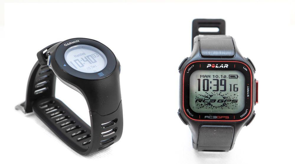 PULSKLOKKER MED GPS: Vi testet Garmin Forerunner 610 og Polar RC3 GPS.