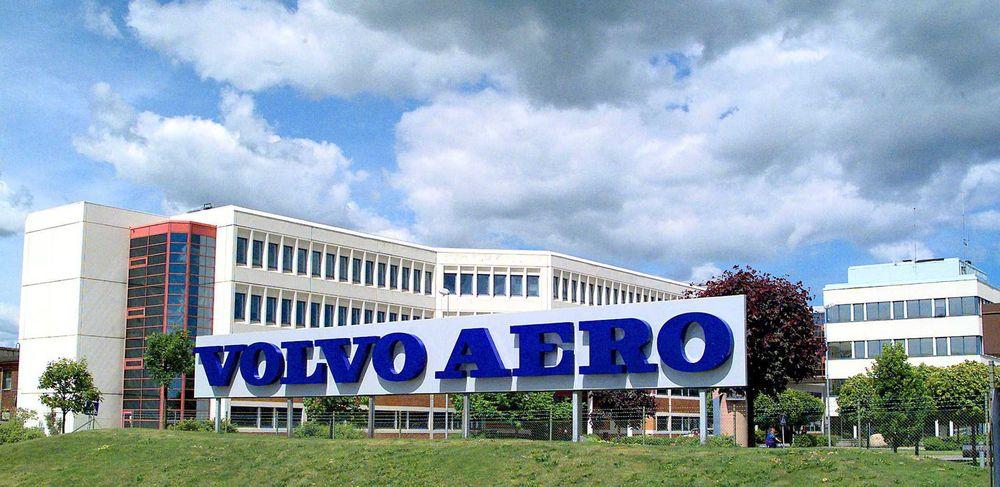 Hovedkontoret til Volvo Aero i Trollhättan i Sverige.