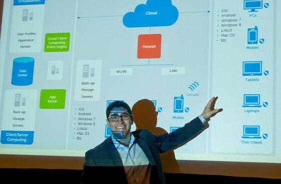 Jobber mye mer: Ansatte som gis tilgang til IT-systemene på jobben fra sitt private IT-utstyr blir både mer produktive og jobber langt flere timer enn de som ikke har slik adgang, sier produktsjef for nettskyklienter i Dell, Rami Karcem