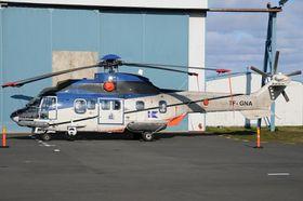 Dette AS332 L1 Super Puma-helikopteret flyr i dag for kystvakten på Island. Om et drøyt år blir basen Longyearbyen.