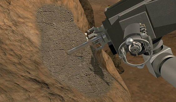 NASA -roveren Curiosity forbereder seg i disse dager på tidenes første boreoperasjon på den røde planeten Mars. Ingeniørene ved Jet Propulsion Laboratory gjennomgår nå kvalitetssikring for å redusere problemene som kan oppstå som følge av en feil i boremekanismen.