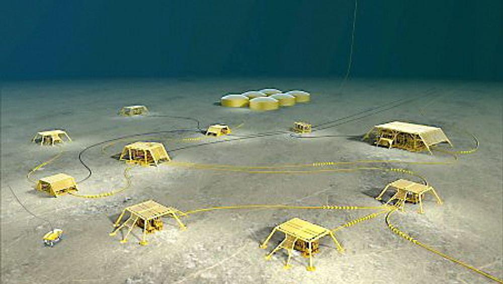 Ultimat drøm: Havbunnsfabrikken er offshoreselskapenes ultimate drøm. Man ser nå på mulighetene for å sette enkeltstående moduler sammen til et slikt fullstendig undervannssystem.