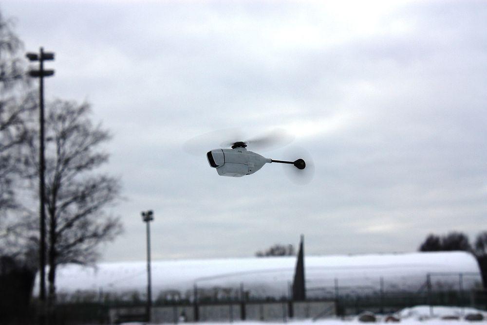 Her ses PD-100 PRS fra Prox Dynamics i lufta. Nå vil selskapet utvikle et dronesystem for sivilie myndigheter.