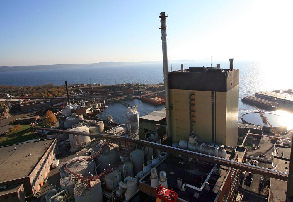 Statkraft og Södra oppretter Silva Green Fuel, som skal finne frem til en lønnsom måte å produsere biodrivstoff fra trevirke på. Her fra Södra Cells tidligere fabrikk på Tofte.