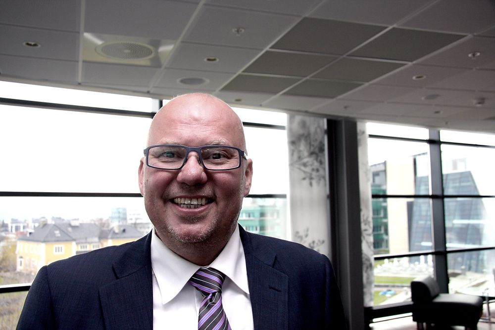 SILER: Direktør Kjell-Are Vassmyr ved Aker Solutions i Tromsø har mer enn nok kvalifiserte søkere. Engineering til Nyhamna-utbygging blir den største enkeltjobben framover.