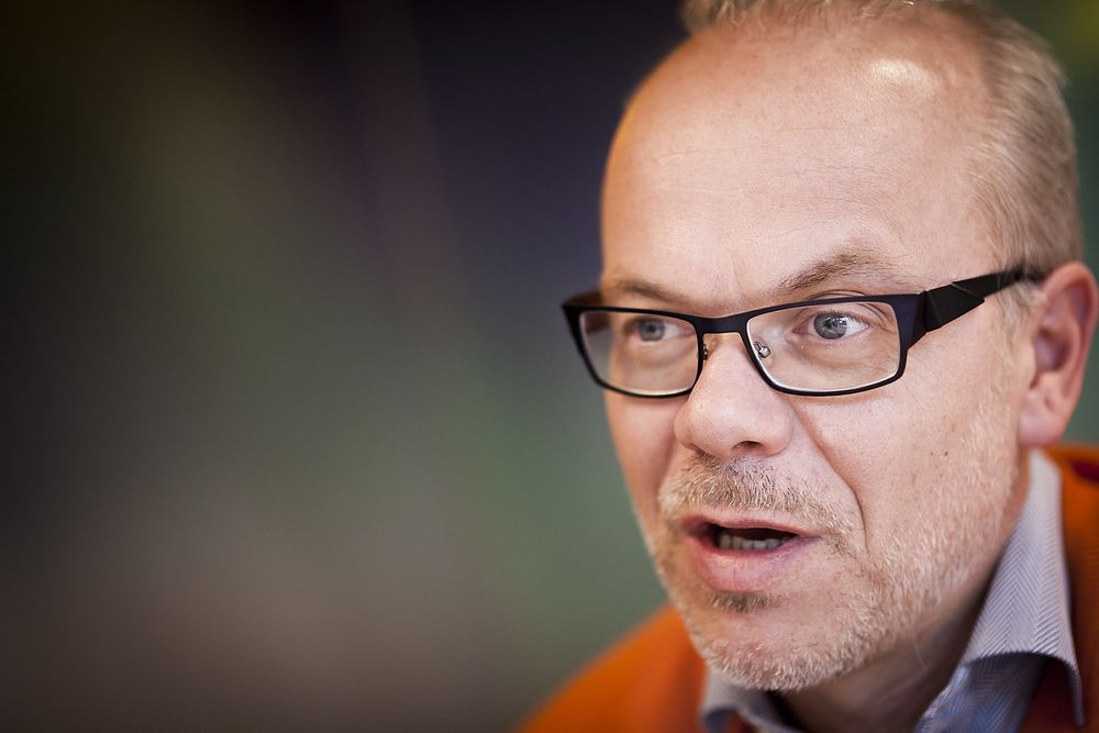 SVARER TU-LESERNE: Google Norge-sjef Jan Grønbech.