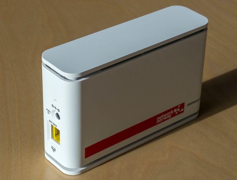 GIR 3G-DEKNING: Denne femtocellen fra NEC er det som trengs for å få god dekning inne i bygninger.