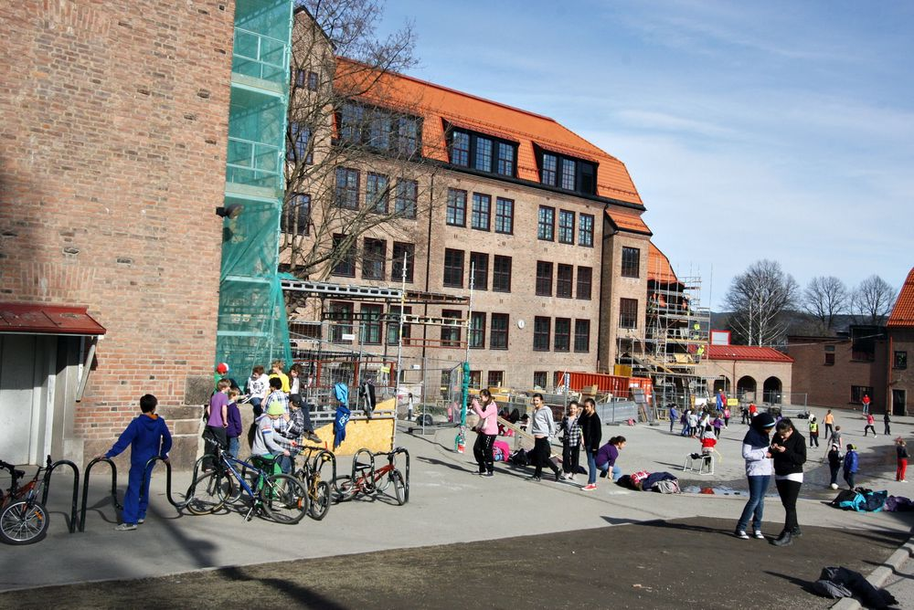 Sliten skole får millioner fra EU