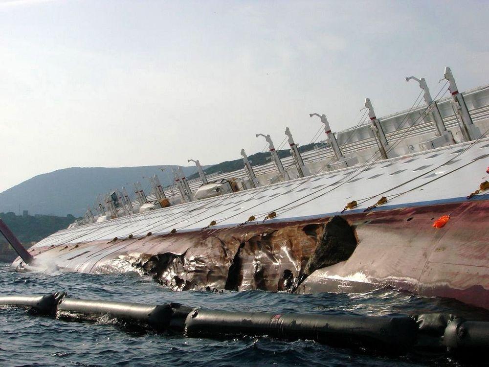 Berger hele Costa Concordia