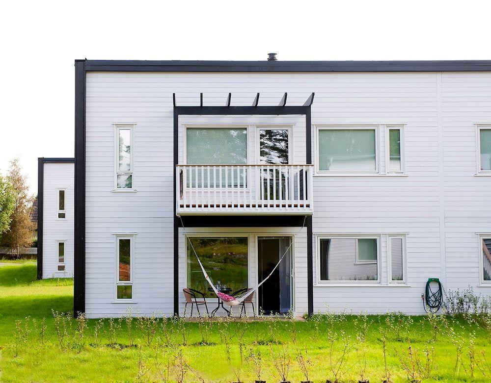 BO BILLIG: Skanska samarbeider med Ikea om å bygge og selge rimelige boliger. Slike leiligheter skal bygges på Kuvågen i Os utenfor Bergen.