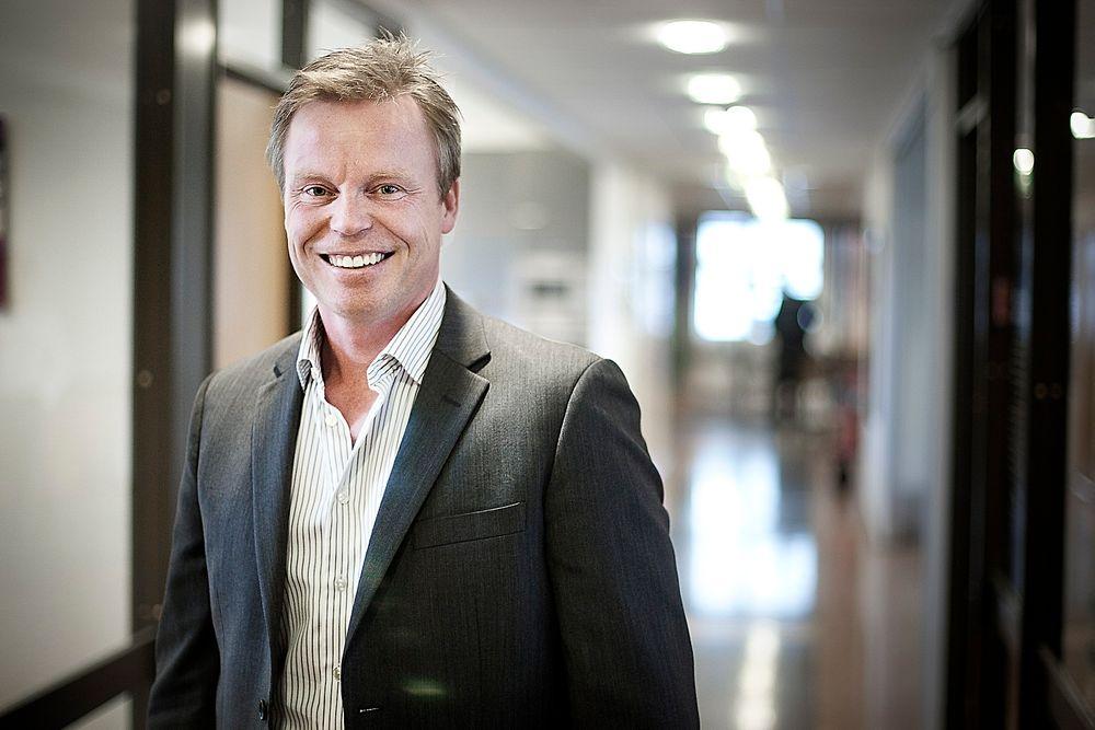 TIL VÆRS: Adm. direktør i Proact, Eirik Pedersen vil tilby bedrifter et produkt som er like enkelt å bruke som DropBox, men som er mye mer sikkert og kommer med garantier.