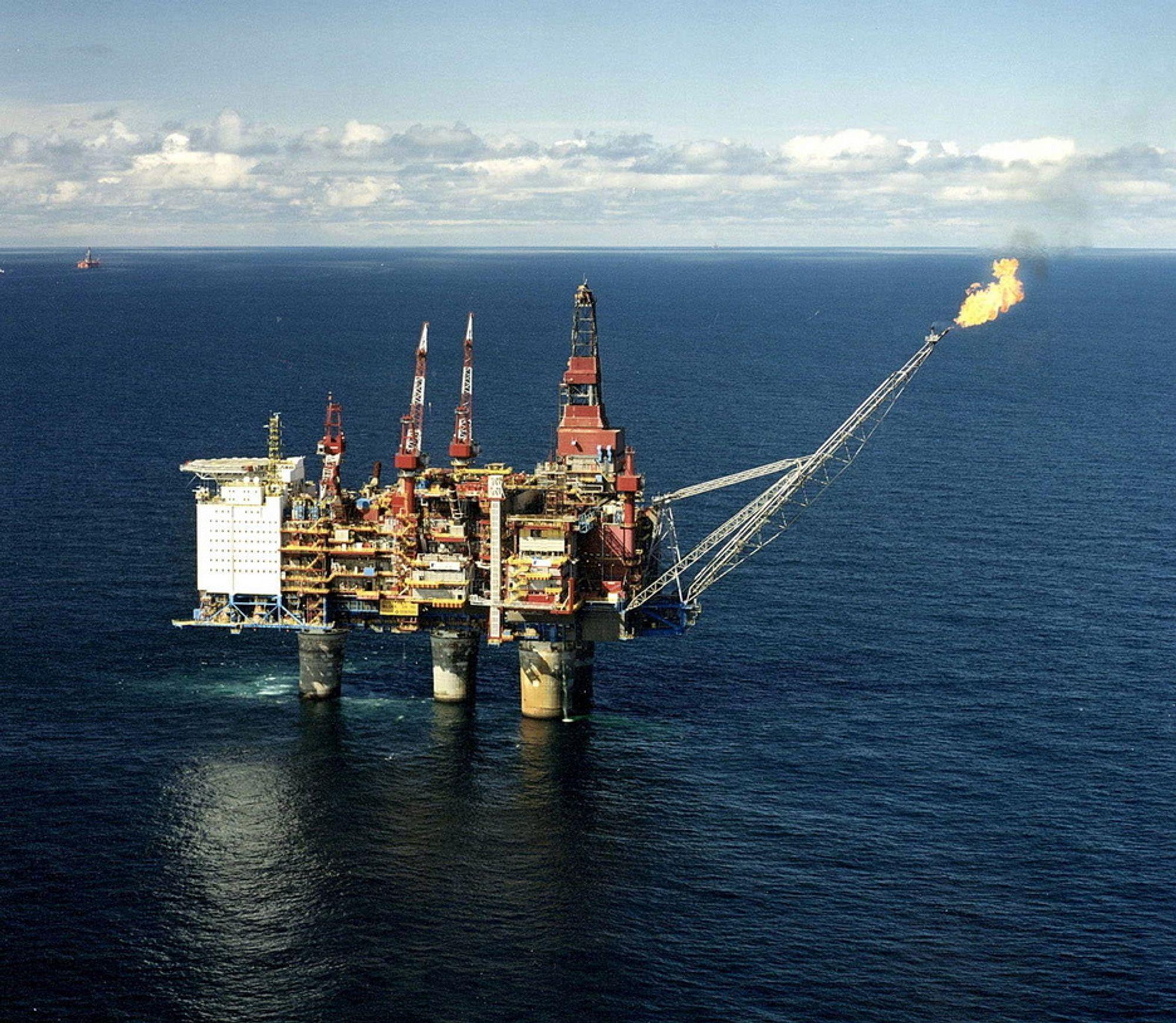 LENGE LEVE: På havbunnen 15 kilometer frGullfaks C vil en subsea kompressorpakke sørge for at produksjongraden øker fra 62 til 74 prosent.