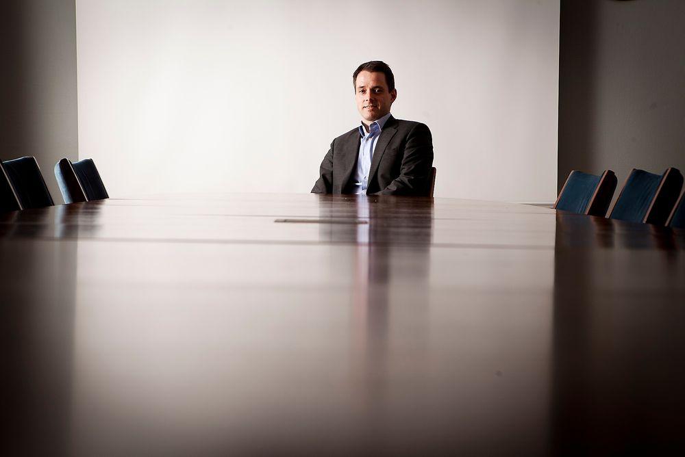 SJEFEN SVARER: Ivar Horneland Kristensen er generalsekretær for landets største akademikerforening, Tekna.