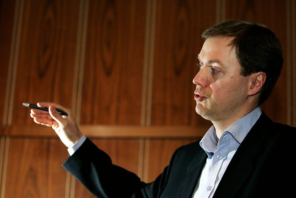 FORNØYD: Direktør i Norsk Industri, Knut Sunde, tror regjeringens nye strategi vil gagne industribedrifter.