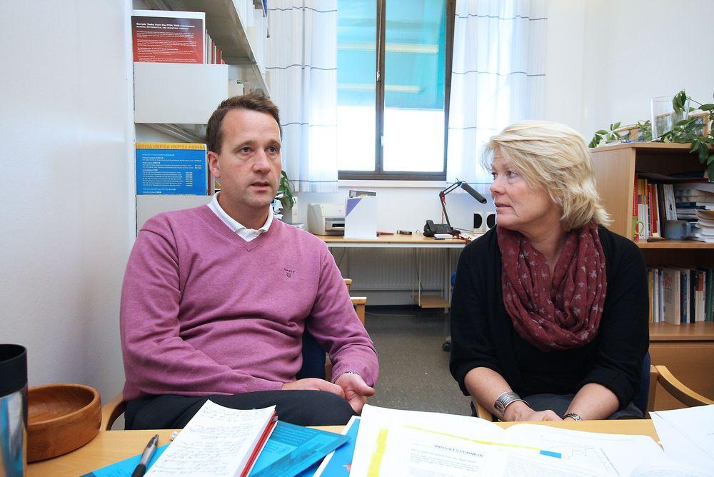 Uenige med Sjøberg: Rolf Vegar Olsen og Marit Kjærnsli ved Institutt for lærerutdanning og skoleforskning forsvarer norsk deltakelse i Pisa-målingene.