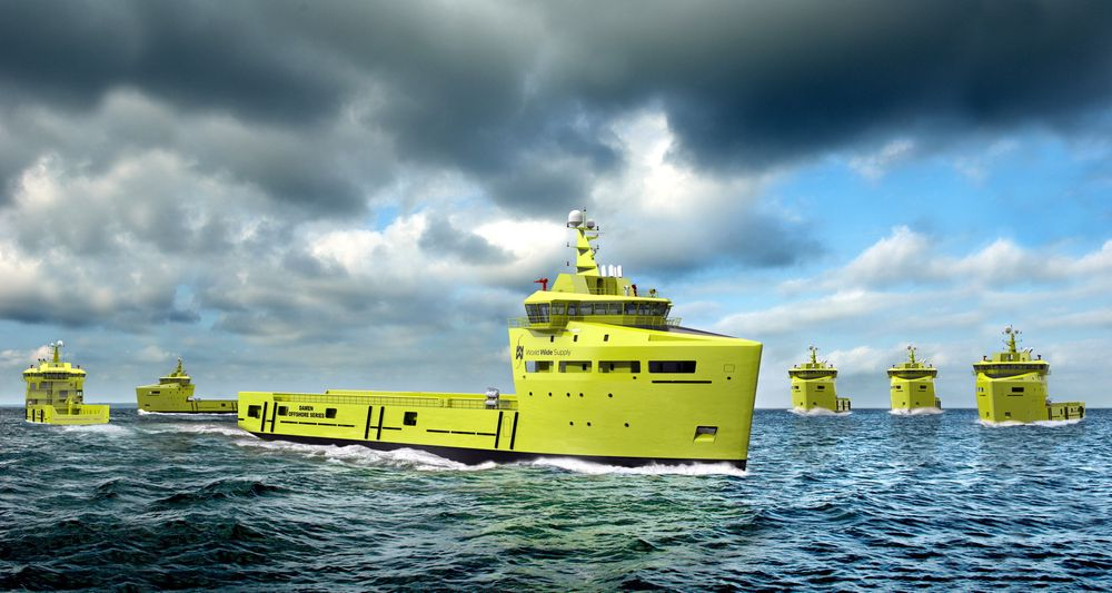 SERIE: World Wide Supply har seks Damen PSV 3300 CD i bestilling til 2013. Ill.: Navy Imagery Unit